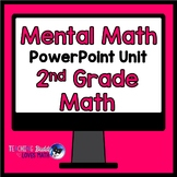 Mental Math Addition Subtraction Math Unit 2nd Grade Common Core