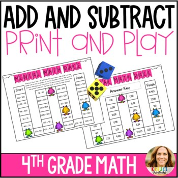 Mental Math Addition and Subtraction Game