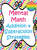 #memorialday2020 Mental Math Addition and Subtraction Strategies