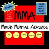 Mental Math Aerobics - 100 Basic Math Skills Flashcards!!