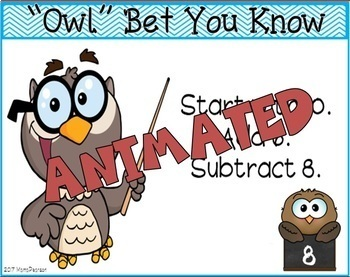 FREE Mental Math Animated PowerPoint