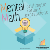 Mental Math: Arithmetic Rational Expressions