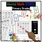 Mental Math Bingo Game for Fact Fluency