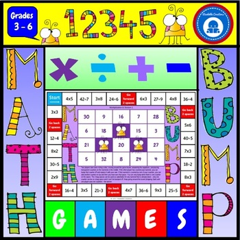 Mental Math Bump Games