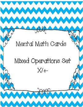 Mental Math Cards - Combo Set