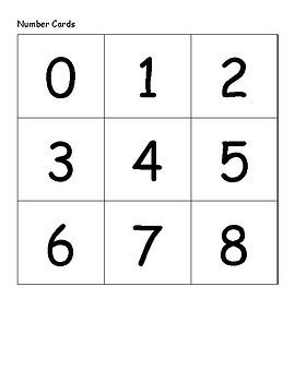 Mental Math Cards Subitizing cards, 10 frames, 5 frames, and 20 frames