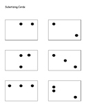 Mental Math Cards Subitizing cards, 10 frames, 5 frames, a