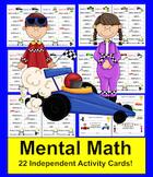 Mental Math Activities