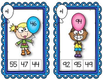 Mental Math Clothespin Task Cards