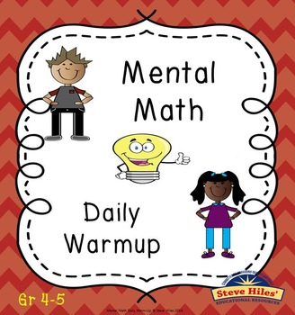 Mental Math Daily Warm-up