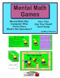 Mental Math Games