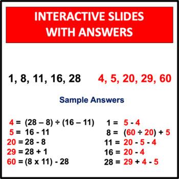 Mental Math Games Set 1