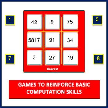 Mental Math Games Set 3