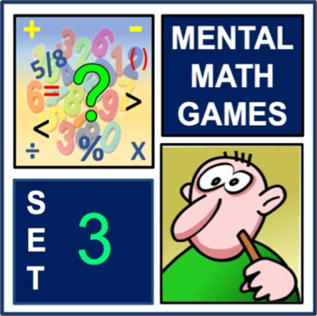 Mental Math Games Set 3