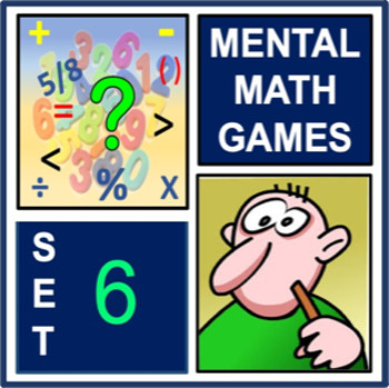 Mental Math Games Set 6