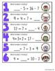 Mental Math Hide and Seek - Math Games