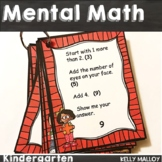 Mental Math Kindergarten - Math Game Math Digits