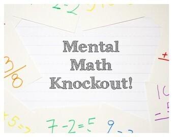 Mental Math Knockout