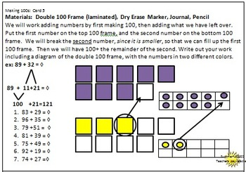 Mental Math . . . Making 100