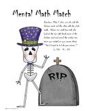 Mental Math Match