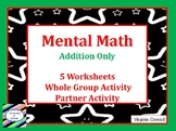 Addition with Mental Math Mini-Unit