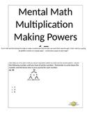 Mental Math Multiplication