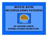 Mental Math: Multiplication Patterns Flipchart