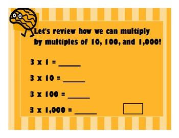 Mental Math: Multiplication Patterns Part 2 Flipchart