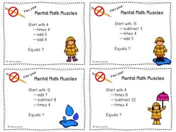 Mental Math Muscles BUNDLE
