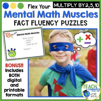 Mental Math Muscles - Multiplication