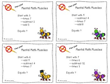 Mental Math - Multiplication by 7's