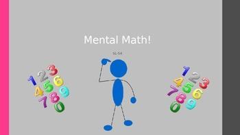 Power Point Mental Math