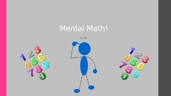 Power Point Mental Math