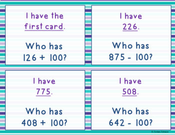 Mental Math Practice and Games