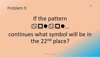 Mental Math Problem Presentations Week 2