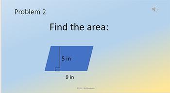Mental Math Problem Presentations Week 4