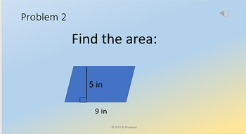 Mental Math Problem Presentations Week 5
