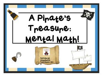 Mental Math Problems: A Pirate's Treasure!