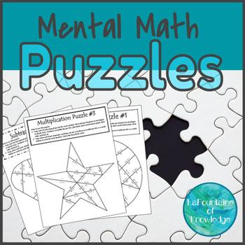 Mental Math Puzzles - Add, Subtract, Multiply, and Divide!