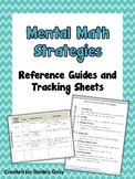 Mental Math Reference Guide and Tracking Sheets