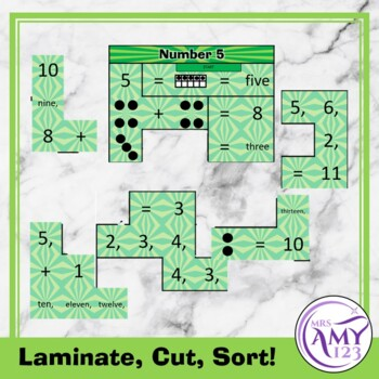 Mental Math Sorting Puzzles - Lower
