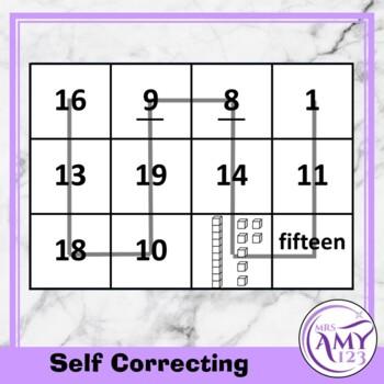 Mental Math Sorting Squares - Lower - Cut & Paste