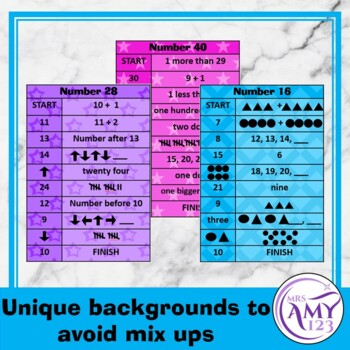 Mental Math Sorting Strips - Lower