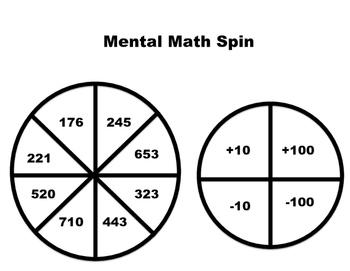 Mental Math Spin