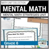 Mental Math Strategies - Complete Unit