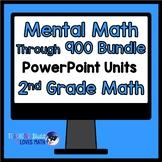Mental Math Strategies Math Unit Bundle 2nd Grade Common Core