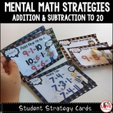 Mental Math Strategies: Student Strategy Cards