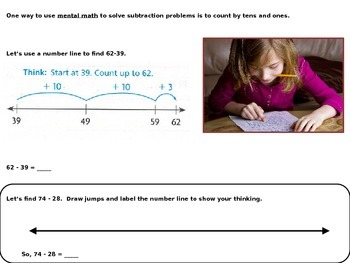 Mental Math Strategies for Subtraction