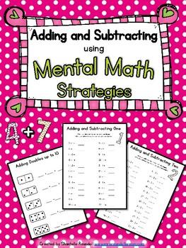 Mental Math Strategies worksheets