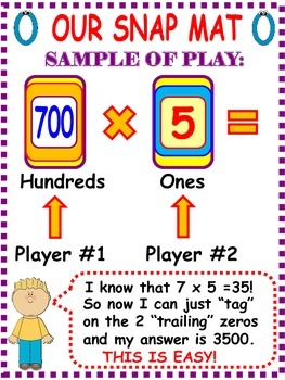 Mental Math Strategy Games For Multiplication